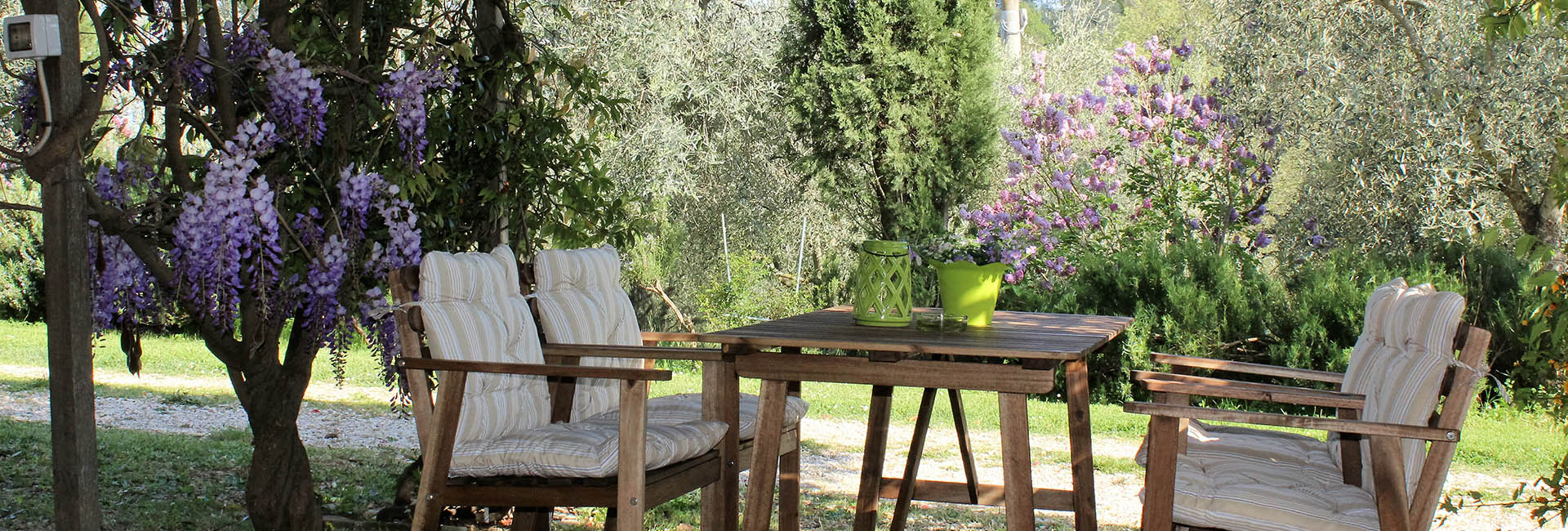 Agriturismo in Umbria - ambiente relax all'aperto
