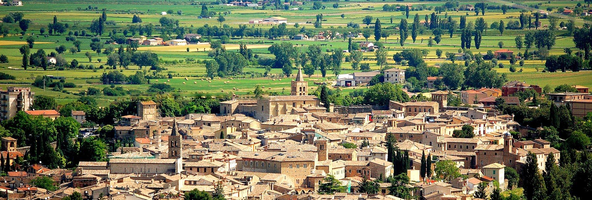 Agriturismo in Umbria La Fonte - Panorama di bevagna